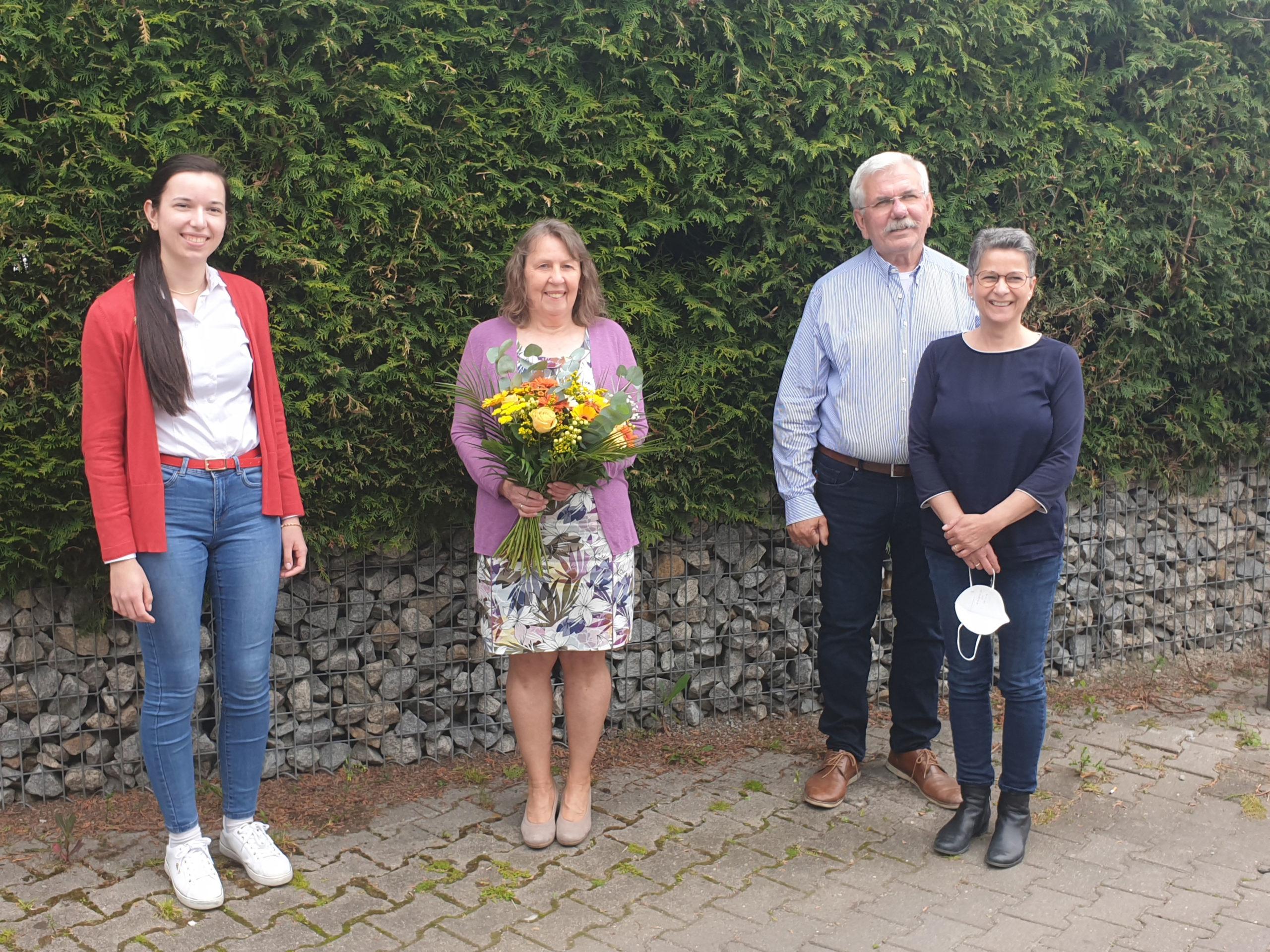 Verabschiedung Angelika Weihrauch in den Ruhestand